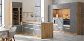 küche beton, altholz