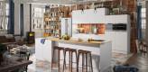 Küche weiß, Inselküche, Küche modern