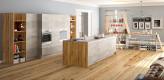 küche, beton, liton, eiche, massivholz, regal